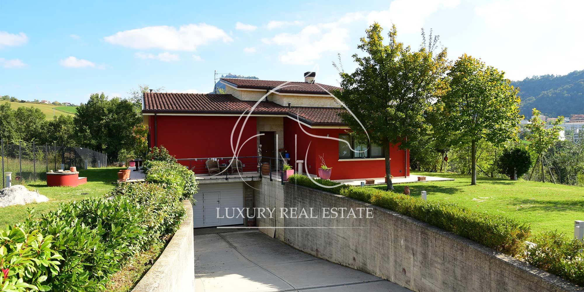 K.-Nr. 333 Villa auf dem Land in Ventoso (RSM)